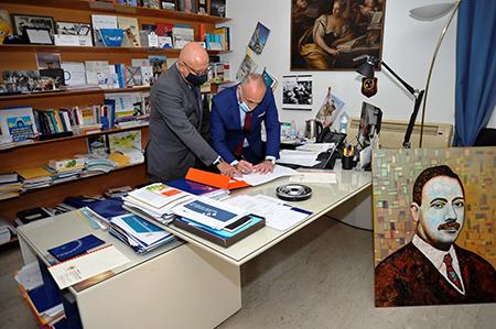 Sergio Potenzano e Paolo La Terra Borgese