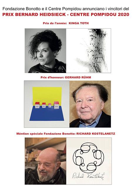 Vincitori del Prix littéraire Bernard Heidsieck - Centre Pompidou 2020