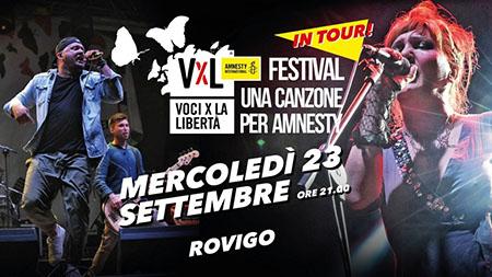 'Voci per la libertà' a Rovigo