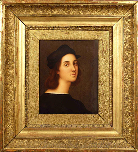 Abraham Constantin Autoritratto di Raffaello © MiBACT, Musei Reali - Galleria Sabauda