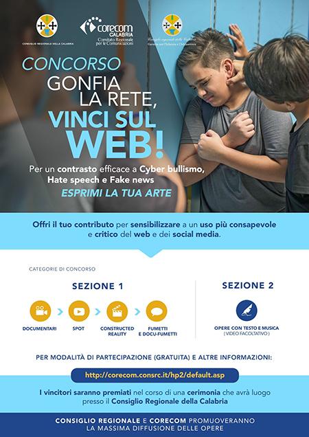 Concorso 'Gonfia la rete, vinci sul Web!'