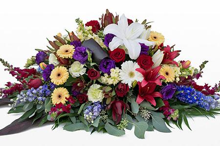 Cuscino funebre fiori