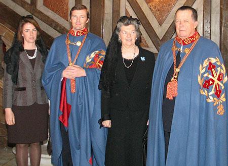 Don Carlos, Donna Anna d'Orléans, Don Pedro e Donna Sofía