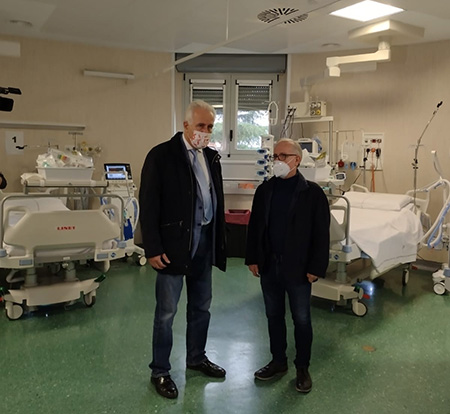 Eugenio Giani e Rocco Damone