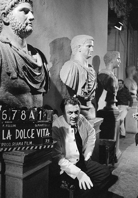 Federico Fellini - ph Savoia Studio