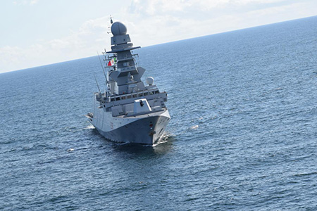 Fregata Martinengo -ph Marina Militare