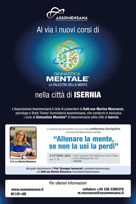 Ginnastica mentale - La palestra nella mente nella città di Isernia