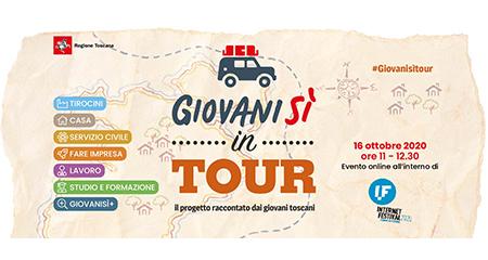 'Giovanisì in tour' all'Internet Festival