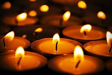 Lumini nei cimiteri