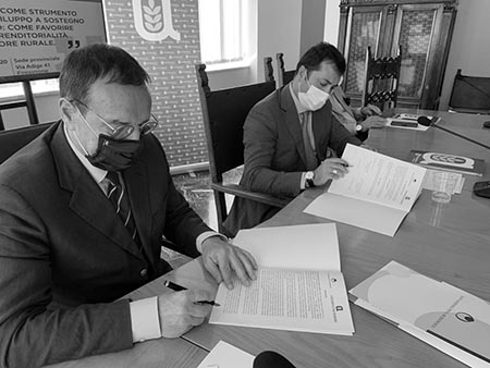 Mario Baccini e Vincenzo del Greco Spezza