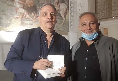Maurizio de Giovanni e Massimo Frenda