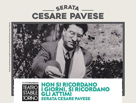 'Non si ricordano i giorni, si ricordano gli attimi' - Serata Cesare Pavese