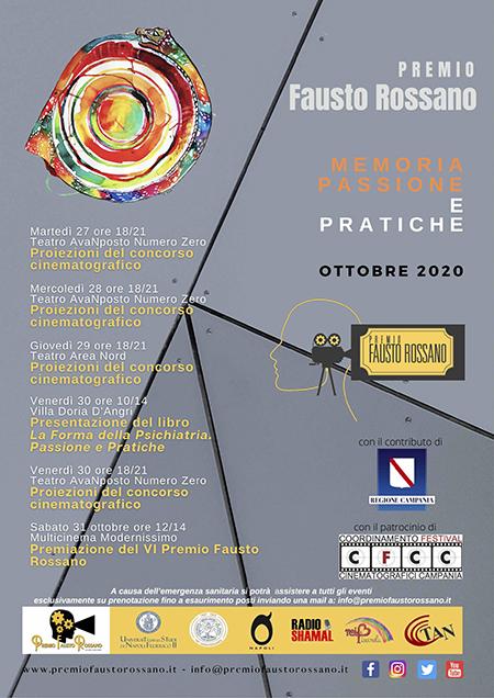 Premio Fausto Rossano 2020