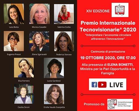 Premio Internazionale Tecnovisionarie XIV edizione