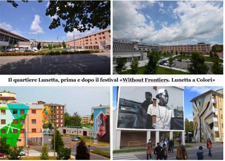 Quartiere Lunetta a Mantova