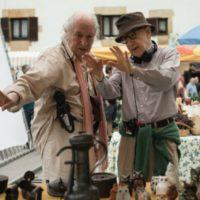 Woody Allen e Vittorio Storaro sul set di Rifkin's Festival