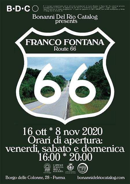 'Route 66' di Franco Fontana