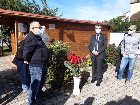 Stefano Baccelli alla 'Casina dei Ricordi' di Viareggio (LU)