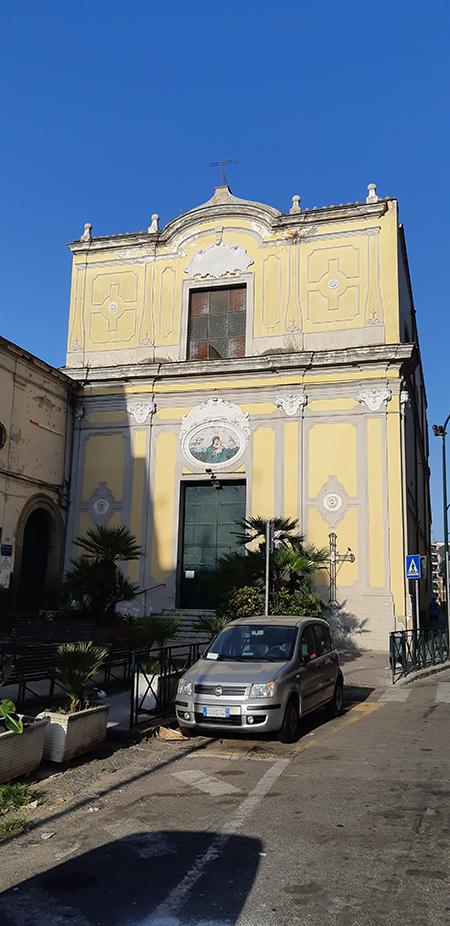 Via Belvedere - Santa Maria della Libera