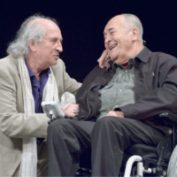 Vittorio Storaro con Bernardo Bertolucci