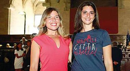 Alessandra Clemente ed Eleonora de Majo