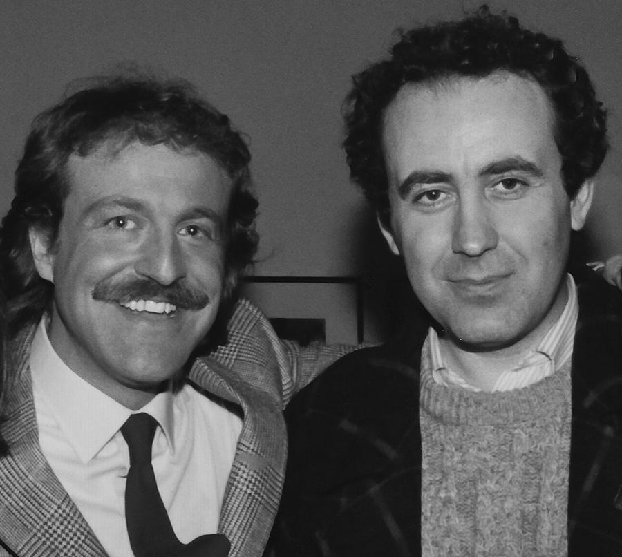 Augusto De Luca e Michele Santoro