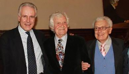 Eugenio Giani, Nano Campeggi e Giorgio Morales