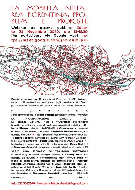 La mobilità nell'area fiorentina: problemi e proposte