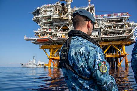 Nave Anteo - ph Marina Militare