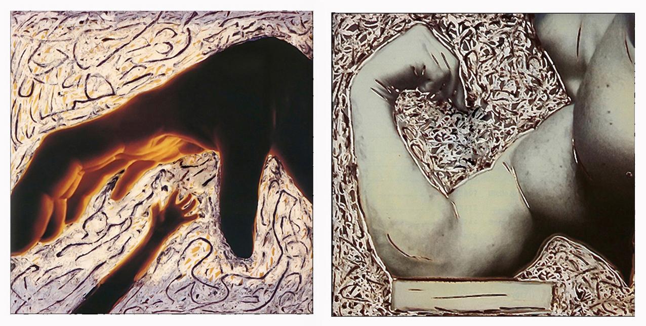 Polaroid manipolate di Augusto De Luca