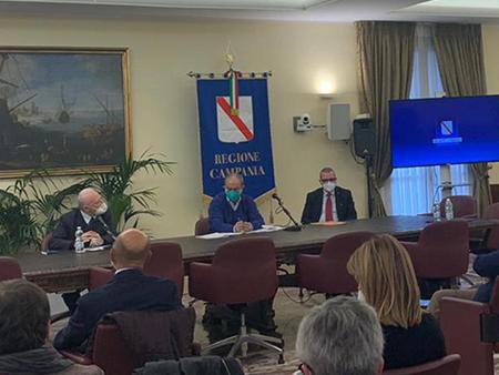 Riunione Unità di Crisi Regione Campania