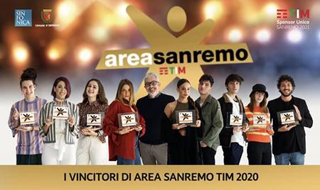 I vincitori di Area Sanremo TIM 2020