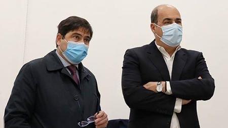 Alessio D'Amato e Nicola Zingaretti