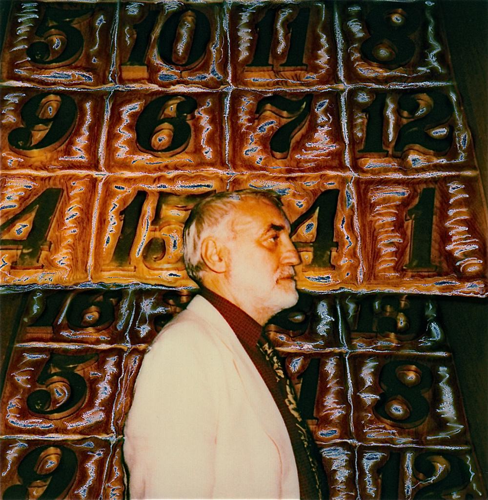 Enrico Job - polaroid di Augusto De Luca