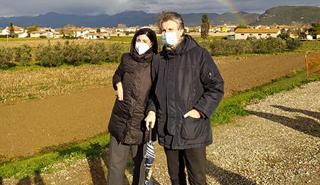 Monia Monni e Massimiliano Angori