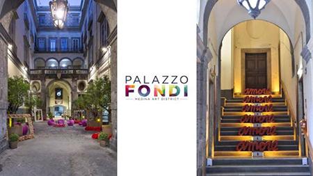 Palazzo Fondi a Napoli