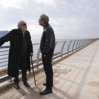 Renato Carpentieri e Andrea Renzi a Bagnoli Santa Lucia film di Marco Chiappetta foto di Serena Petricelli