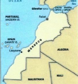 Cartina Politica Del Marocco.Marocco Anche La Cia Adotta Mappa Completa Con Sahara Expartibus