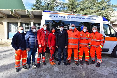 Fondazione Cannavaro Ferrara - 'Un'Ambulanza per la vita'