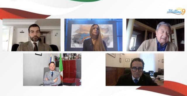 Forum a 'Mattina 9' 'Pandemia, crisi senza fine'