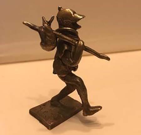 Il viandante – Bronzetto dell'artista Roberto Cyop