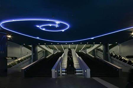 Metro Napoli Linea 1 Stazione Vanvitelli
