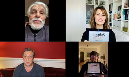 Michele Placido, Paola Cortellesi, Gabriele Muccino e Ricky Memphis