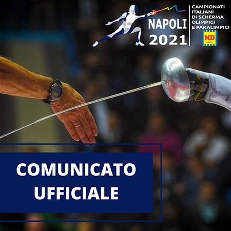 Napoli 2021 Campionati Italiani di Scherma