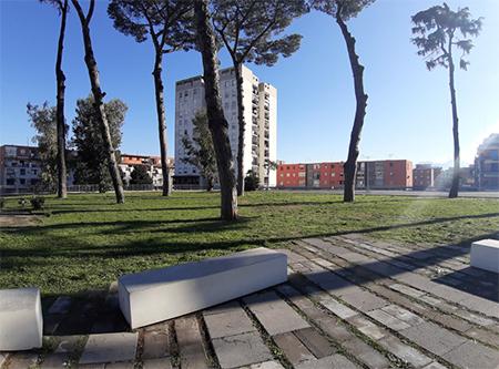 Napoli, area a verde dell'ex Birreria Peroni