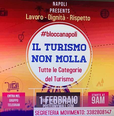 A Napoli il turismo non molla
