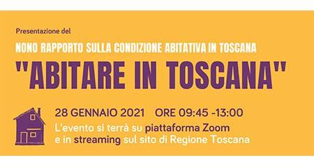 Presentazione IX rapporto sulla condizione abitativa in Toscana