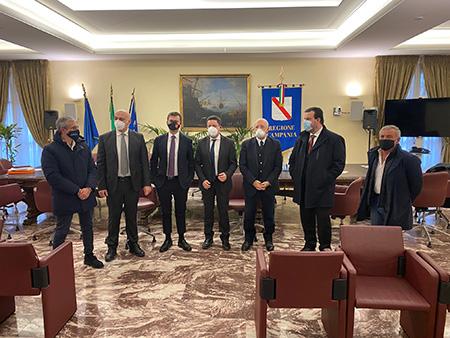 Regione Campania riunione con i Sindaci della Penisola Sorrentina