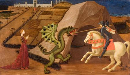 San Giorgio e il Drago di Paolo Uccello