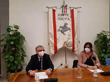 Simone Bezzini e Alessandra Nardini